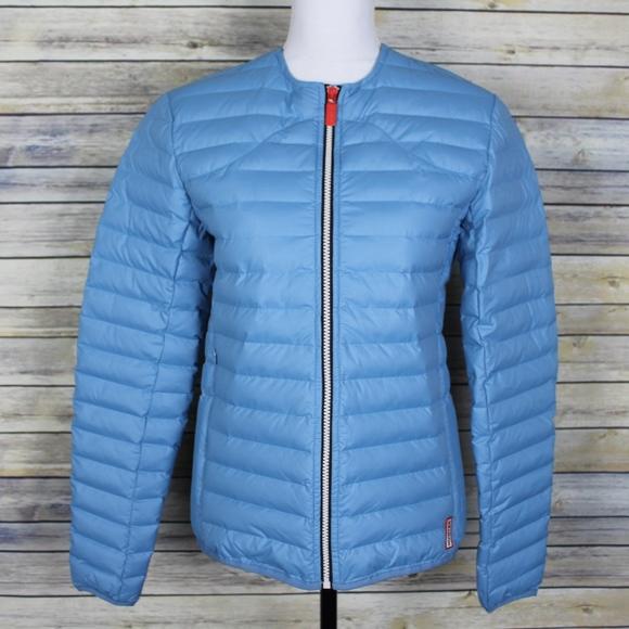 33e562840fcb9 Hunter Jackets & Coats | New Original Midlayer Jacket Pale Blue Xs ...